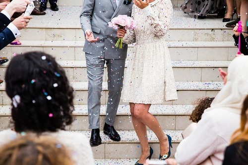 Dofta gott på bröllopet